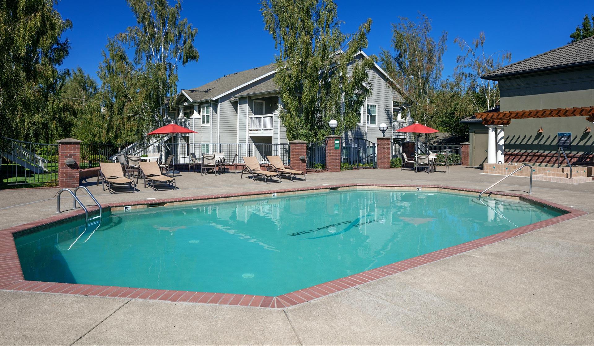 Home photo- pool area
